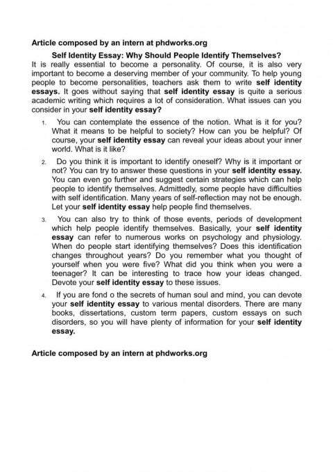 007 Essay Example Self Esteem Identity Examples Gilgamesh Essays On Heroes Examp Paper Low Wondrous Conclusion Wikipedia 480