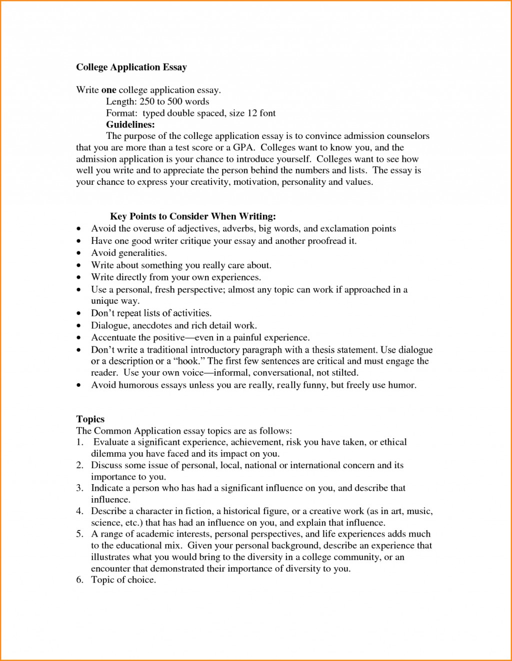 007 Essay Example Standard College Format Resume Cv Cover Letter L How To Awesome A Application Set Up My Your Large
