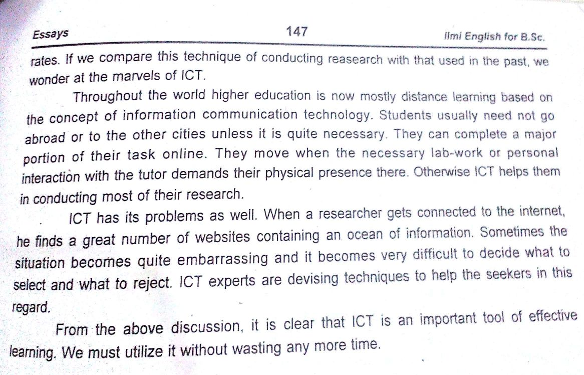 technology essay topics example science and college