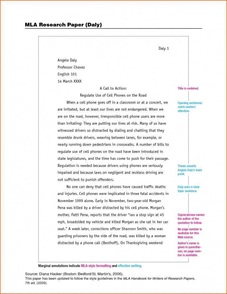 007 Essay Example What Is Mla Format For Essays The Unique A Narrative With Cover Page 728