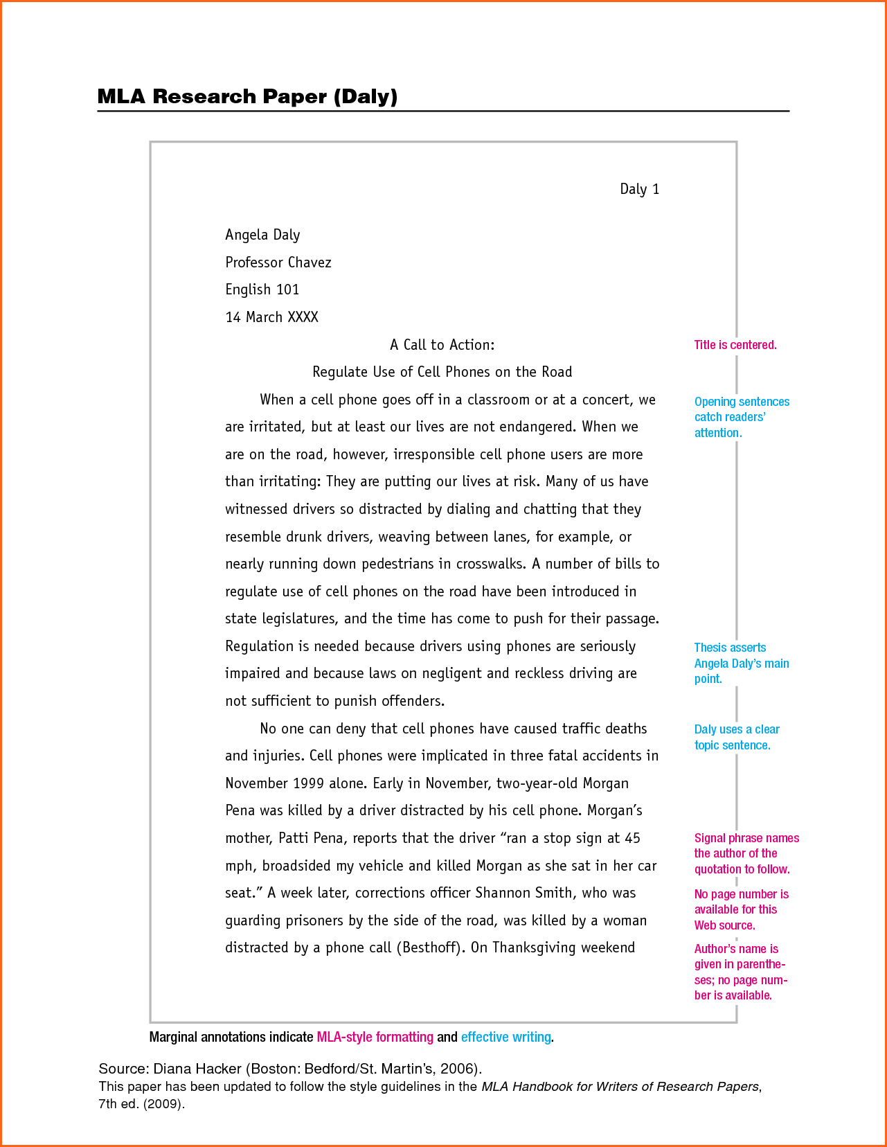 007 Essay Example What Is Mla Format For Essays The Unique Proper An 8 Full