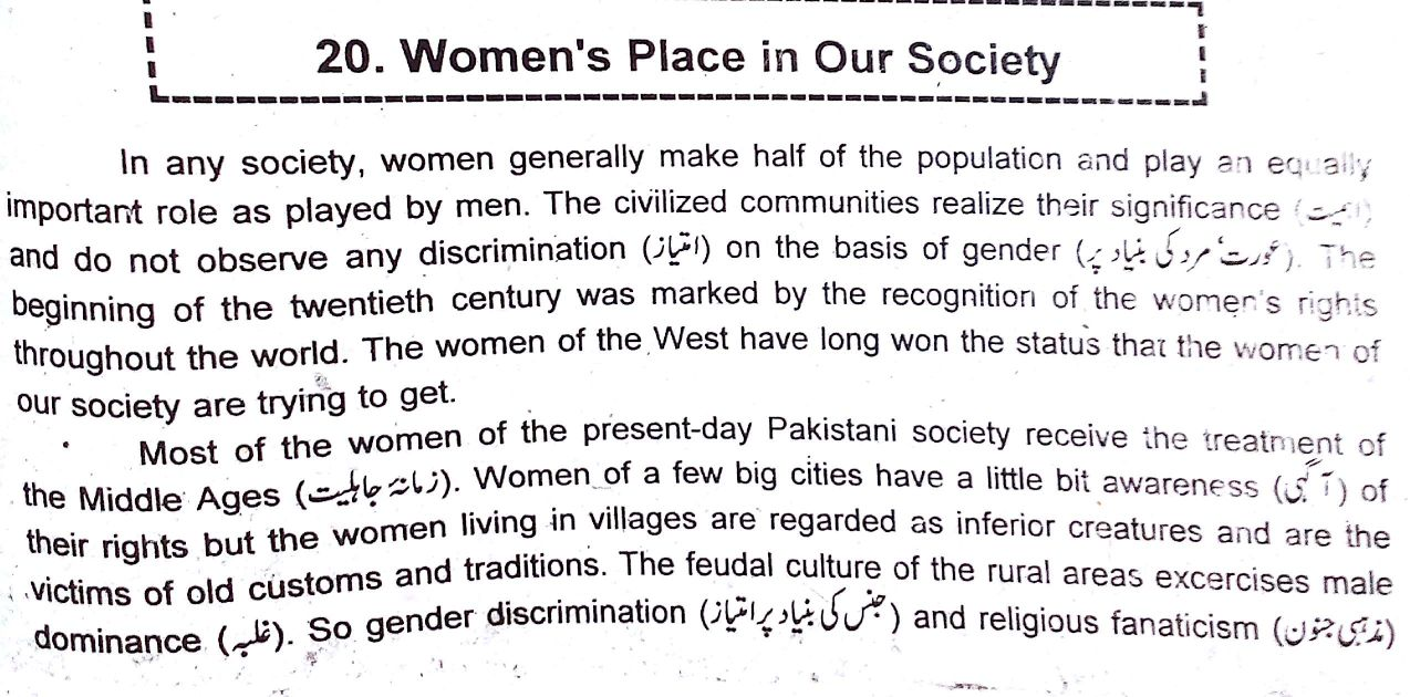 007 Essay Example Woman2bplace2bin2bour2bsociety2b252812529 Womens Archaicawful Rights Women's Movement Questions In Tamil Full