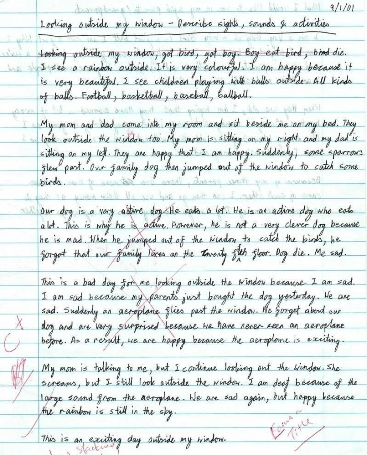 007 Essay Example Writing Striking A Creative About Yourself College Outline 5 Steps To 728