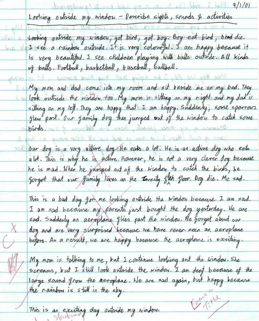 007 Essay Example Writing Striking A Creative About Yourself College Outline 5 Steps To 868