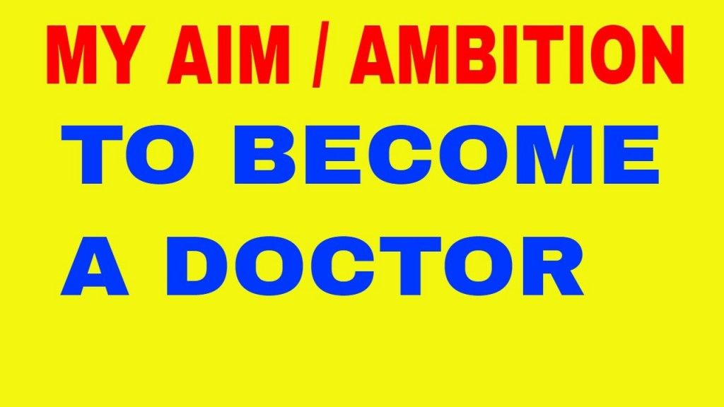 007 Essay My Ambition Doctor Example Stupendous About In Tamil Hindi On To Become A For Class 10 Large