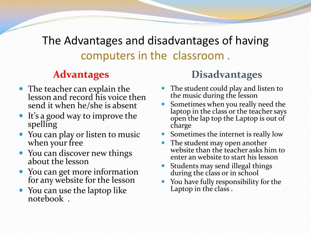 007 Essay Of Advantages And Disadvantages Computer The Having Computers In Classroom L Archaicawful On Urdu Language Games Large