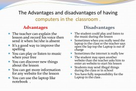 007 Essay Of Advantages And Disadvantages Computer The Having Computers In Classroom L Archaicawful On Urdu Language Games