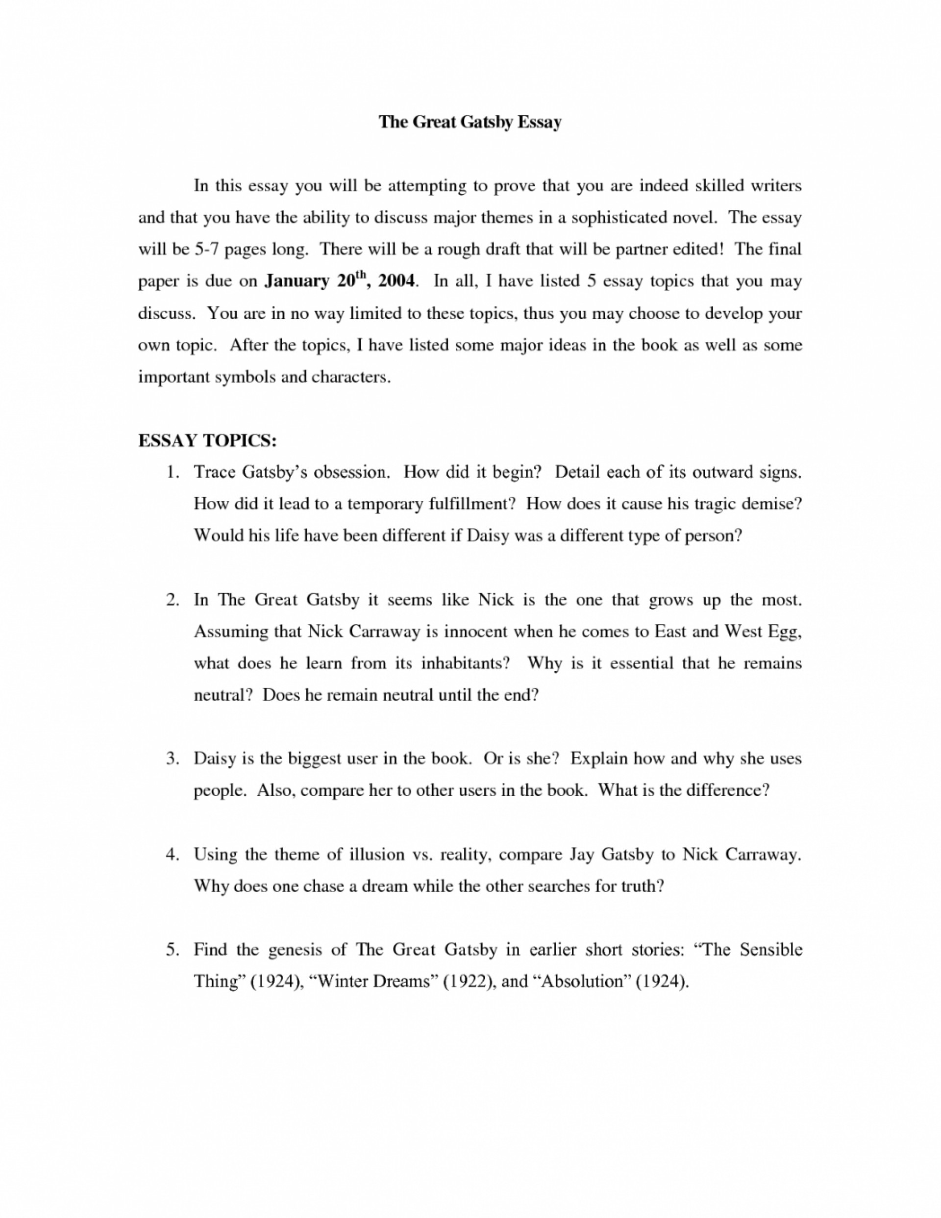 007 Essay Onrican Dream Great Gatsby Thesis The Future Is Still Possible Argumentative Statement For Template 4ni Attainable Argument Prompt Alive Research About Topics 1048x1356 Example Marvelous American Examples 1920