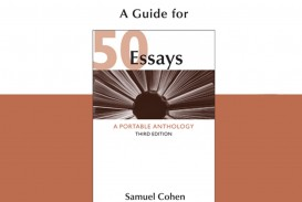007 Essays 71b59q9bcil Essay Shocking 50 A Portable Anthology 4th Edition Answers Pdf Free Samuel Cohen