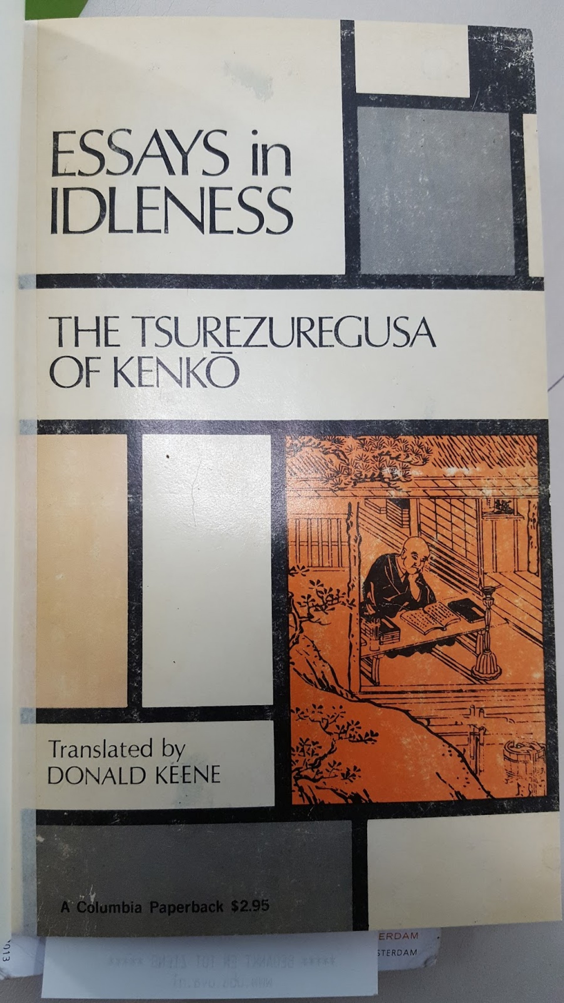 007 Essays In Idleness 20180502 084153 Essay Magnificent Summary The Tsurezuregusa Of Kenkō 1920