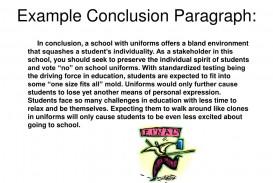 007 Example Conclusion Paragraph L Essay Good For Wondrous A An Argumentative How To Write