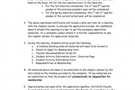007 Examples Of National Honor Society Essays Essay Example Honors Junior Imposing Application
