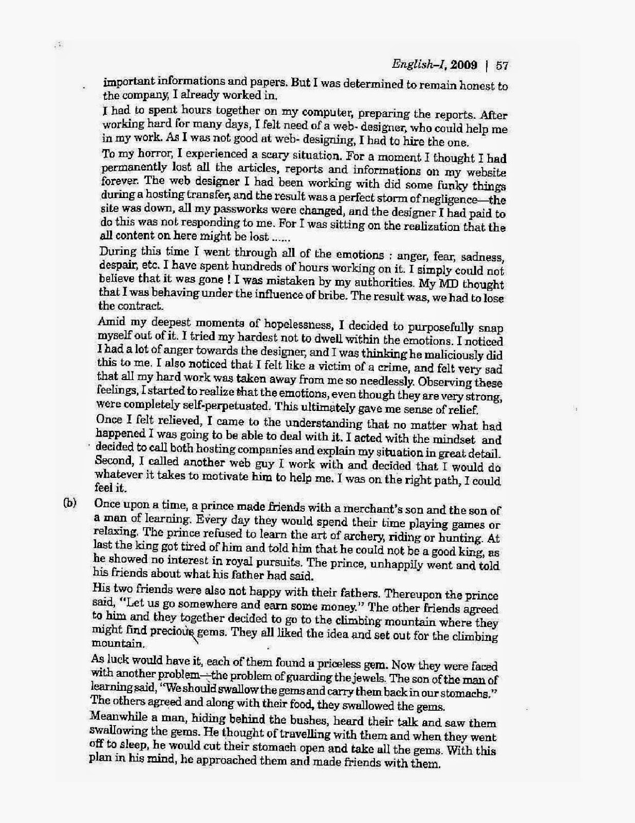 007 Grade English Essays Icse2benglish2bclass2b102b2009 Page Wonderful 12 Essay Examples Narrative Provincial Exam Sample Manitoba Full