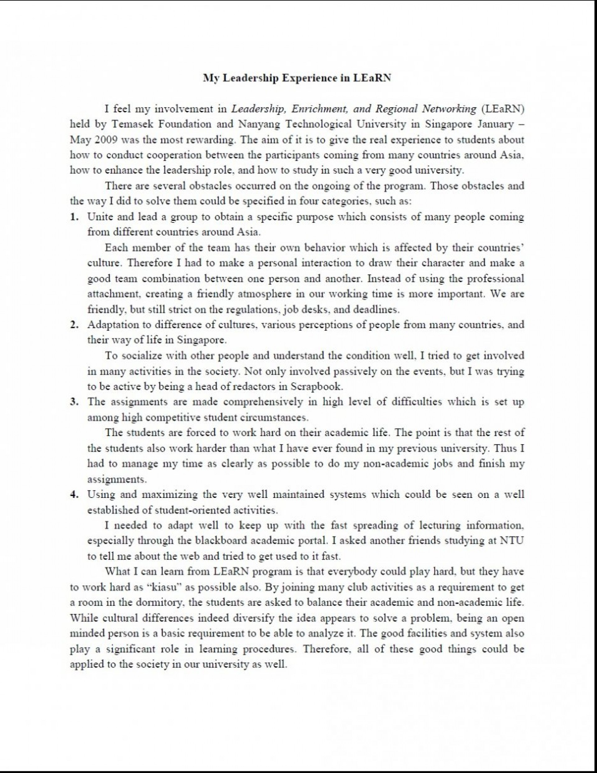 007 Great Leadership Essays Essay On Characteristics Of Good Leader Pdf 936x1211 Example What Awesome Makes A Successful 1920