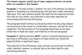 007 How To Write Compare And Contrast Essay Example 007393206 1 Striking Block Method Conclusion