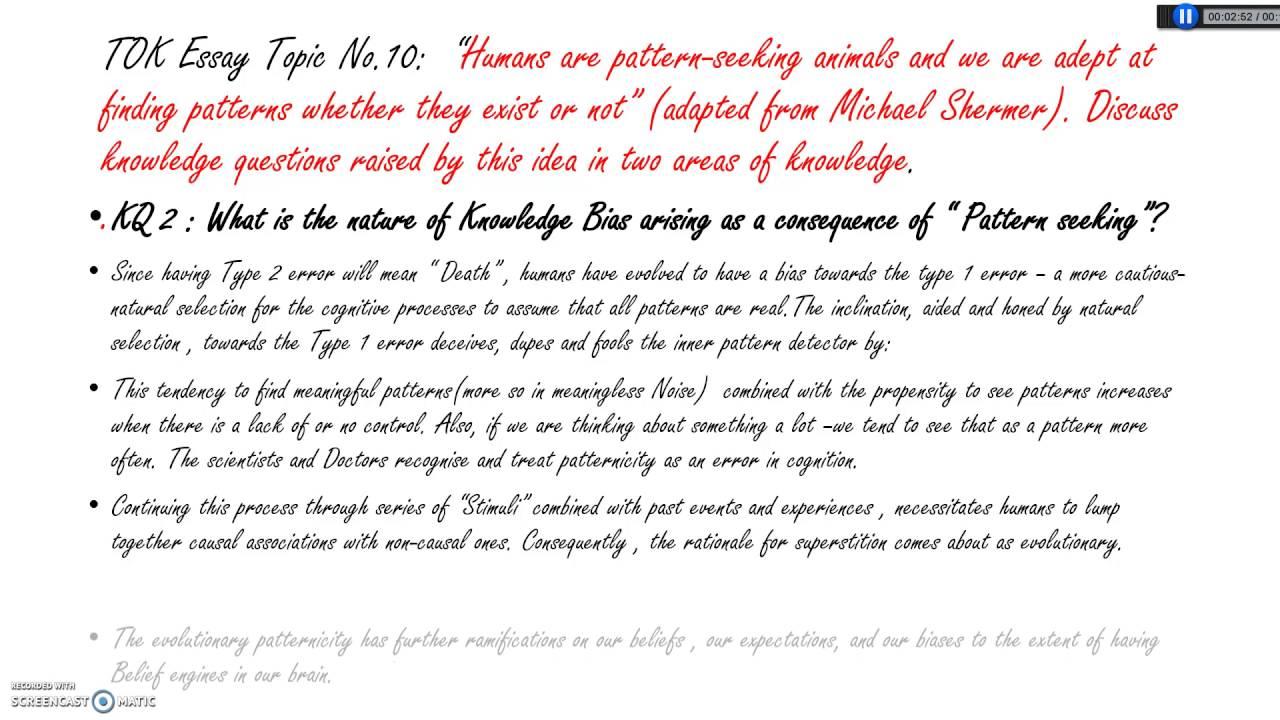 007 How To Write Tok Essay Example Wondrous A Ib Mastery Reddit Full