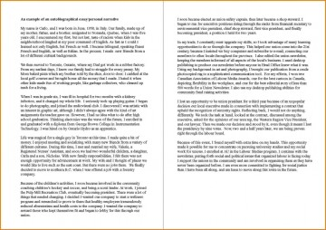 007 How To Writenutobiography Essay Example Exceptional Write A Autobiography An Introduction Autobiographical For College Grad School 360