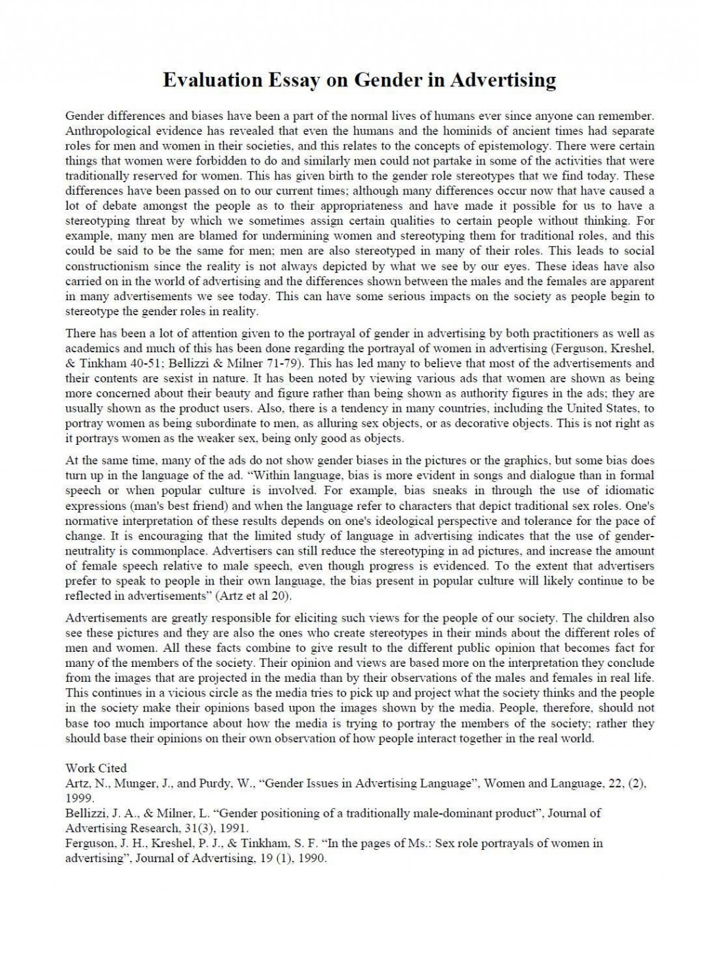 007 Ideas Of Evaluative Essays Stunning Writing An Evaluation And Arg Argument Shocking Essay Example Large