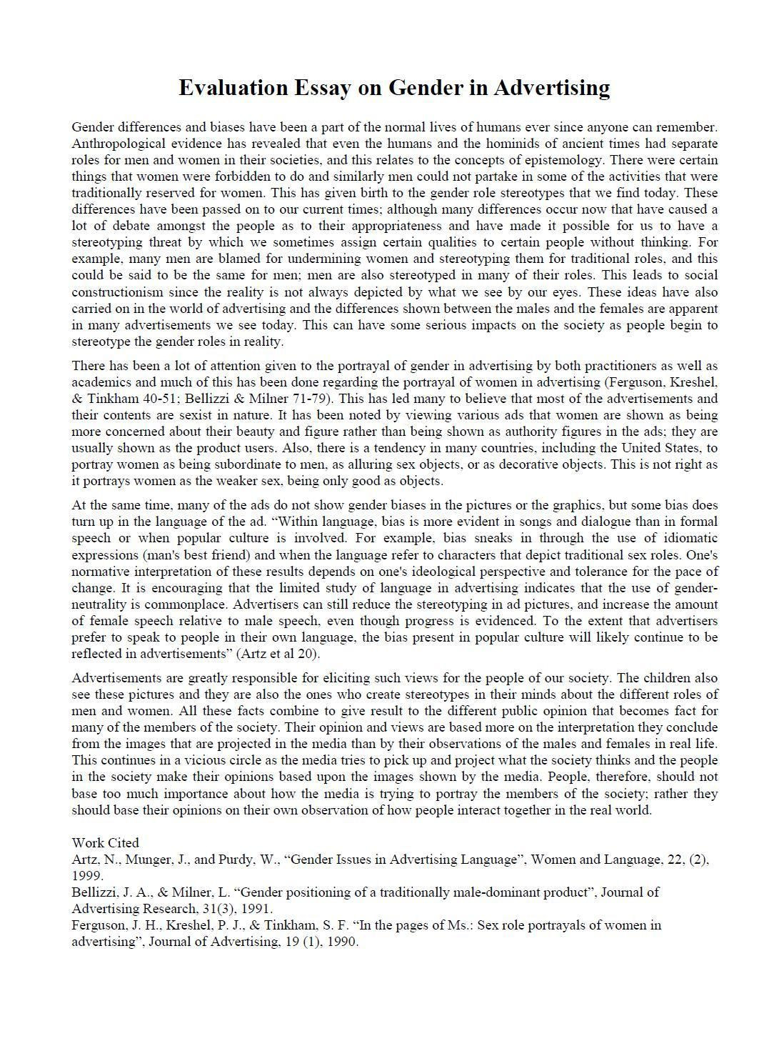 007 Ideas Of Evaluative Essays Stunning Writing An Evaluation And Arg Argument Shocking Essay Example Full