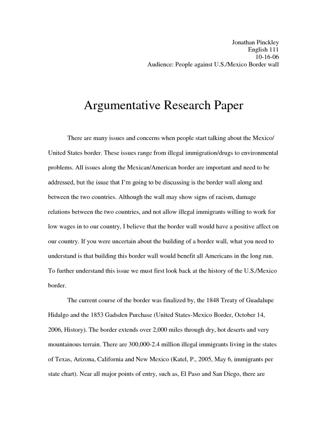 argumentative essay on immigration system