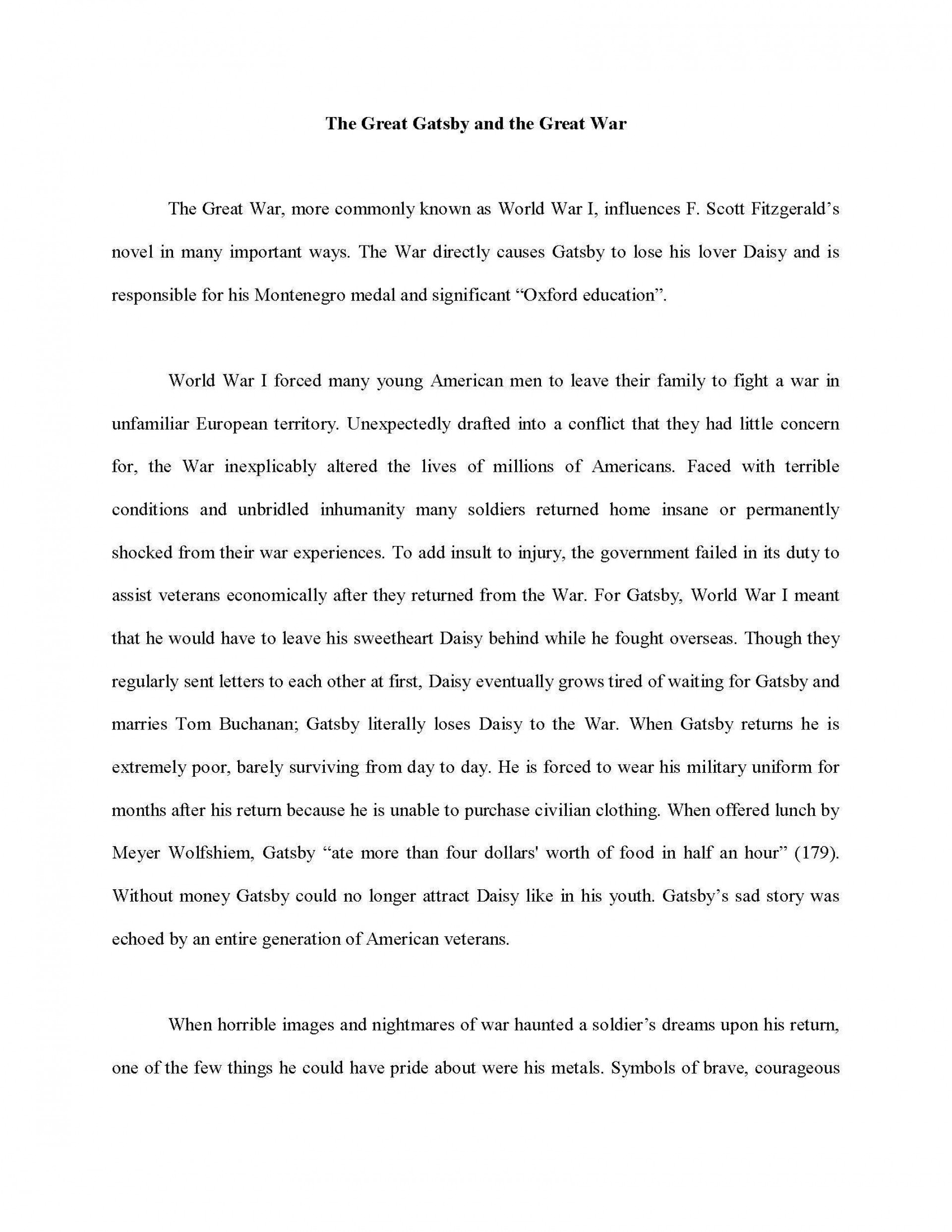 007 Informative Essay Sample Example How To Write Dreaded A Introduction Good Thesis For An 1920