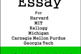 007 Kellogg Mba Essays Poemsrom Co For Harvard Mit Michigan Carnegie Mellon Purdue Georgia Tech 205 Questions Imposing Essay Samples Ga