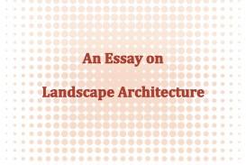 007 Landscape Architecture Essay Example Page 1 Stunning Argumentative Topics 320