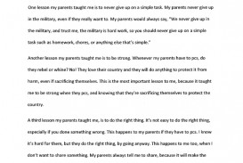 007 Life Lesson Essay Example Formidable Valuable My Life's Greatest Ideas