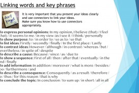 007 Linking Words For An Essay Example Phenomenal Ielts Academic Essays With Examples