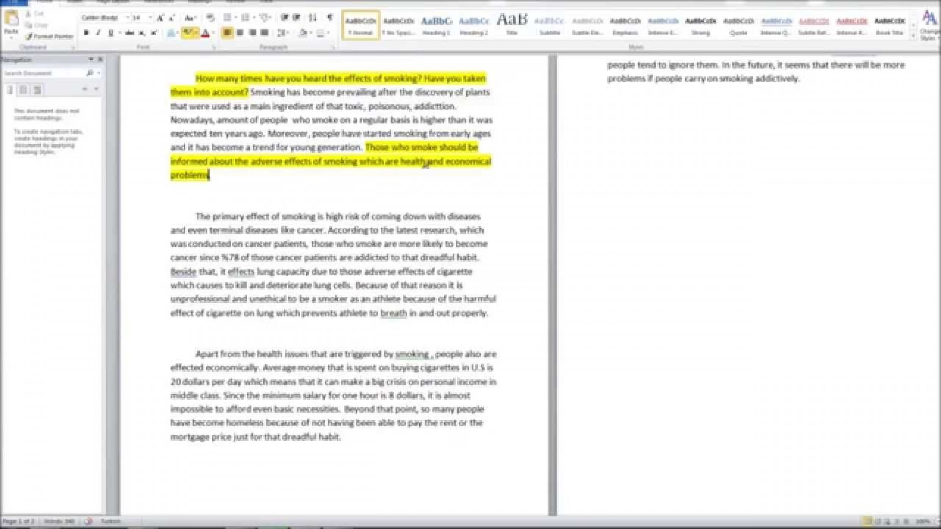 007 Maxresdefault Essay Example How To Write Cause And Fearsome A Effect Good Step By 1920
