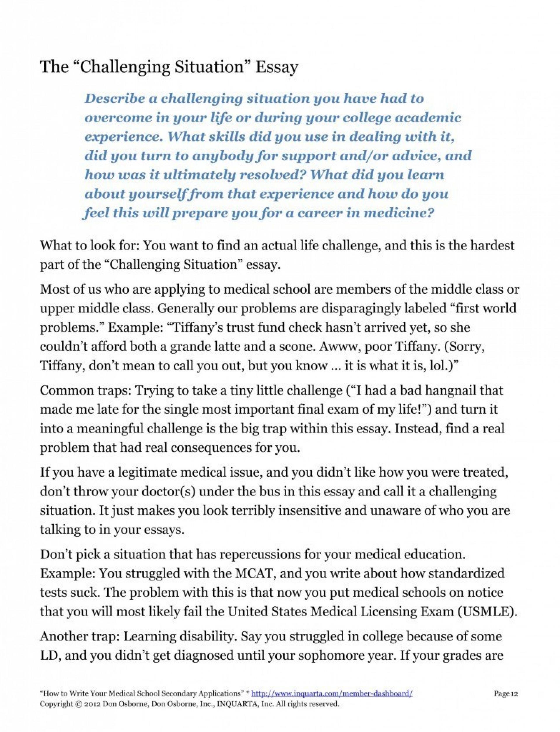 007 Medschoolsecondaries Spyshot1 783x1024 Diversity Essay Sample Fascinating Law School 1920