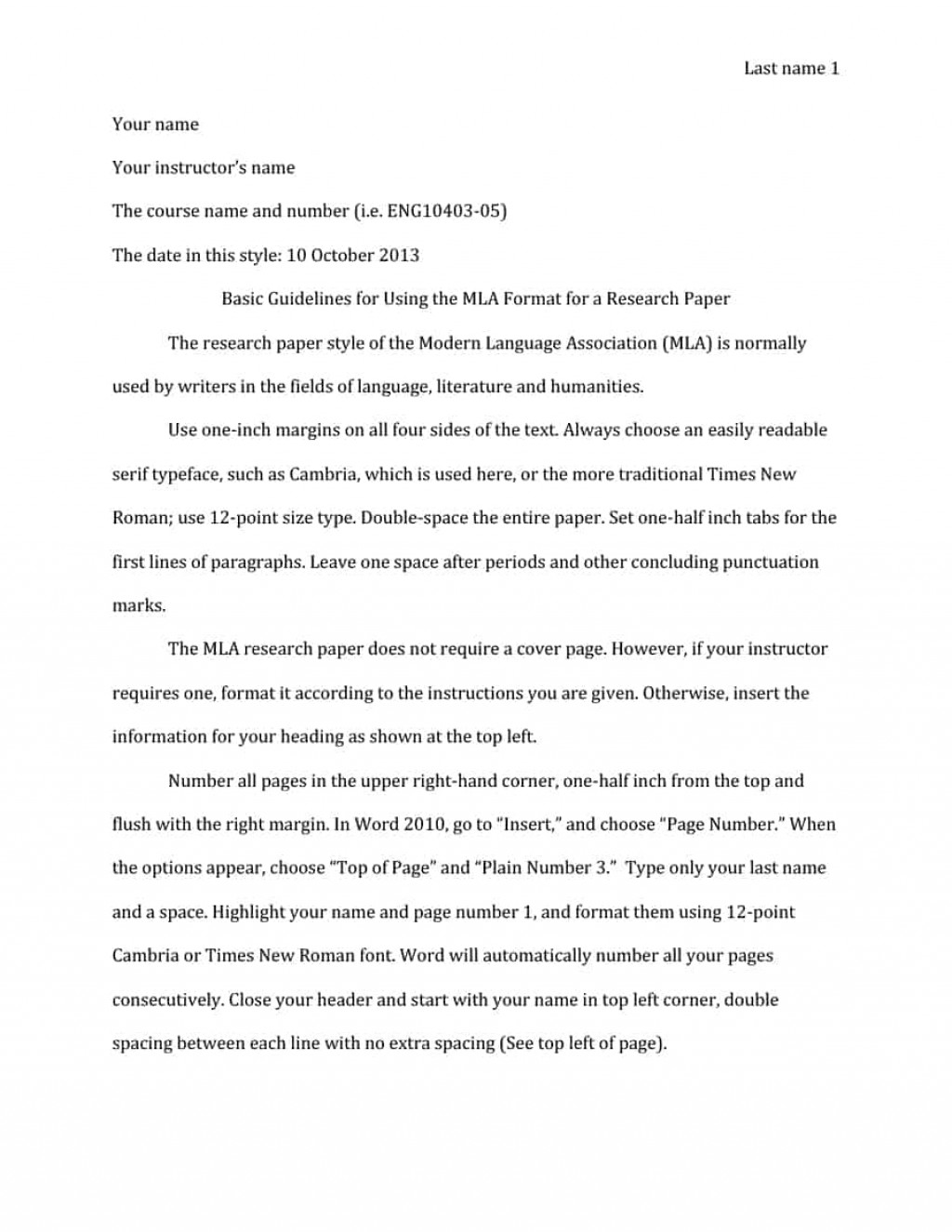 007 Mla Format Essay Template Wondrous Narrative Example With Cover Page Large