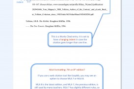 007 Model Mla Paper Essay Example Format Beautiful Sample 2017 Comparison Narrative