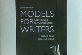 007 Models For Writers Short Essays Composition Essay Example Singular 12th Edition 13th Pdf