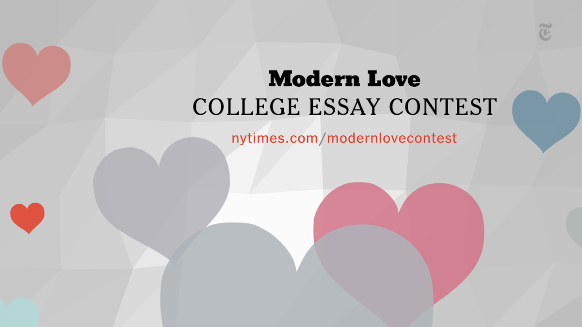 007 Modern Love College Essay Contest Example B9iz Impressive 2016 1920