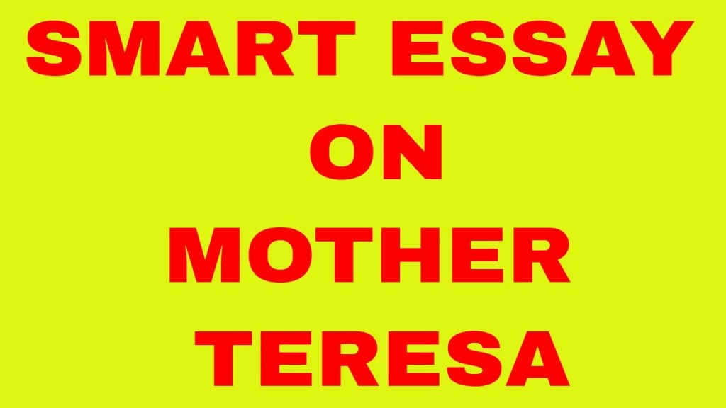 007 Mother Teresa Essay Maxresdefault Fantastic In Marathi Telugu Tamil Pdf Large