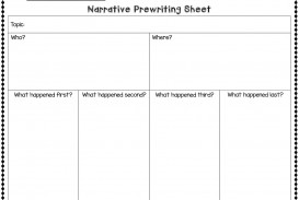 007 Narrative Essay Graphic Organizer Narrative2bpw2bsheet2bpic Incredible Middle School Pdf Story