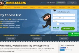 007 Ninja Essays Ninjaessays Com Review Essay Fascinating Is Legit Screwball