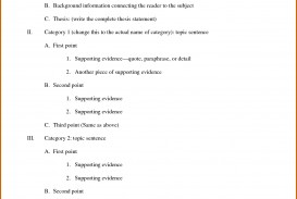 007 Outlining An Essay Example Informal Outline Best Exercise Of Argumentative Classical Pattern