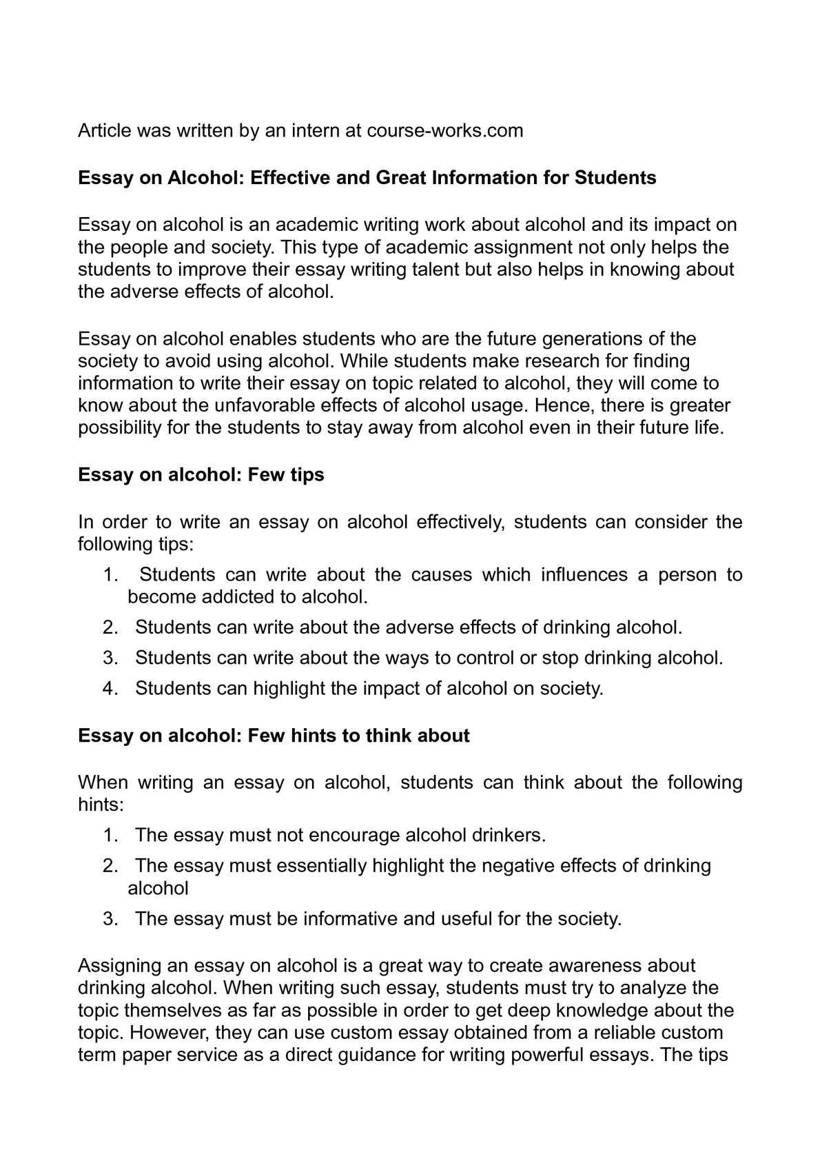 Essay paper printable