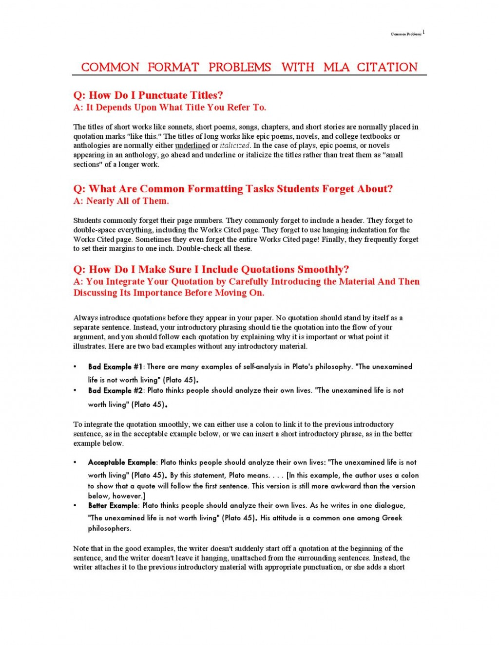 007 Page 1 Essay Example When Quoting In An Where Is The Exceptional Punctuation Large