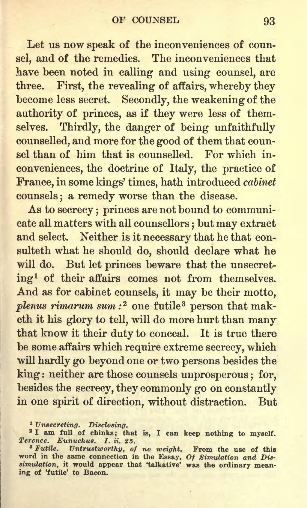 007 Page203 1728px Essays Of Francis Bacon 1908 Scott Djvu Bacons Essay Amazing Google Books Truth Quiz Bacon's Summary Large