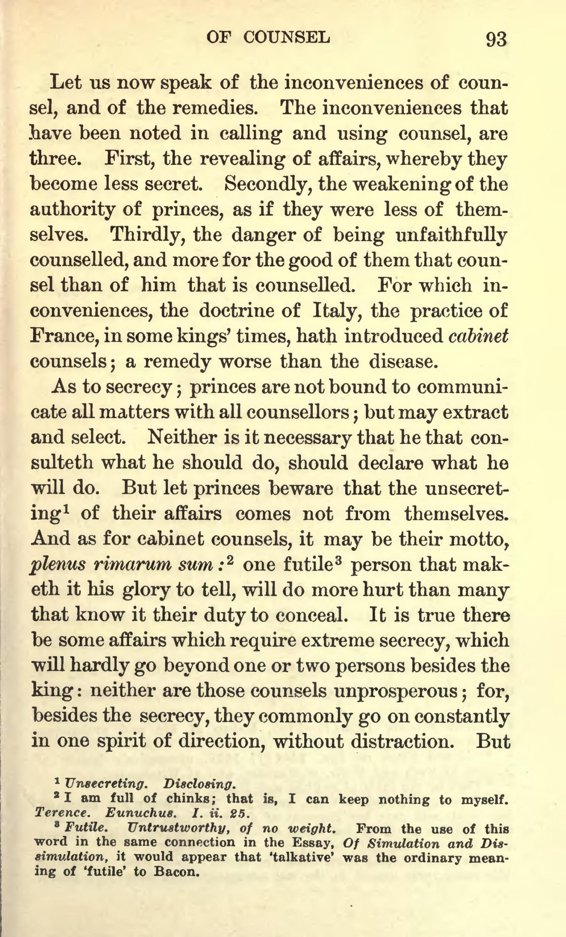 007 Page203 1728px Essays Of Francis Bacon 1908 Scott Djvu Bacons Essay Amazing Google Books Truth Quiz Bacon's Summary 1920