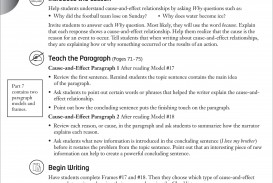 007 Paragraph Essay Writing Prompts Middle School Example Cause And Effect Term Paper Academic Service For College Topics High Photo Brilliant Ideas Of Defin 5th Incredible 5