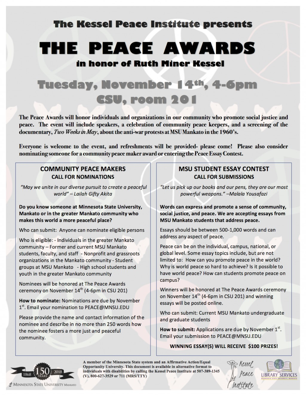 007 Peace Essay Example Awards Flyer Rare In Simple English Contest 2019 Topics Large