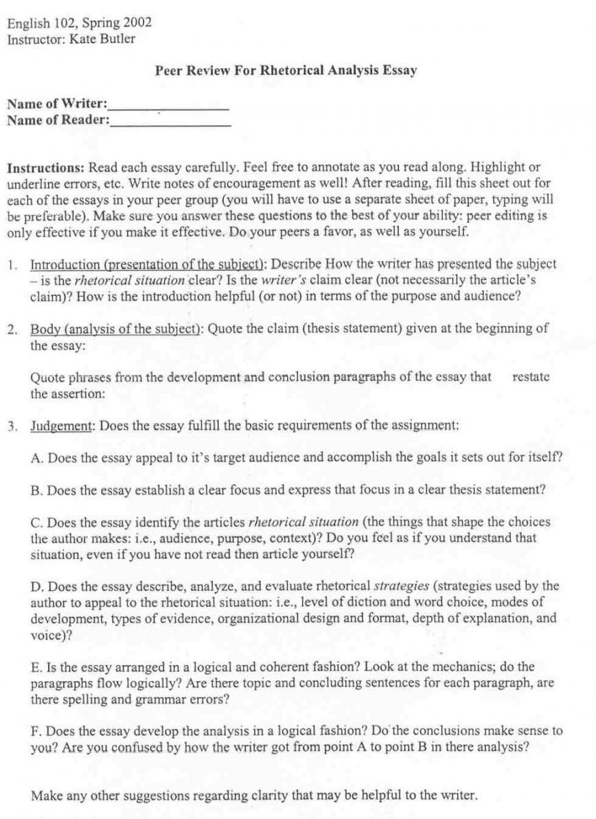 007 Peerrhet What Is Rhetorical Essay Frightening A Question In An Analytical