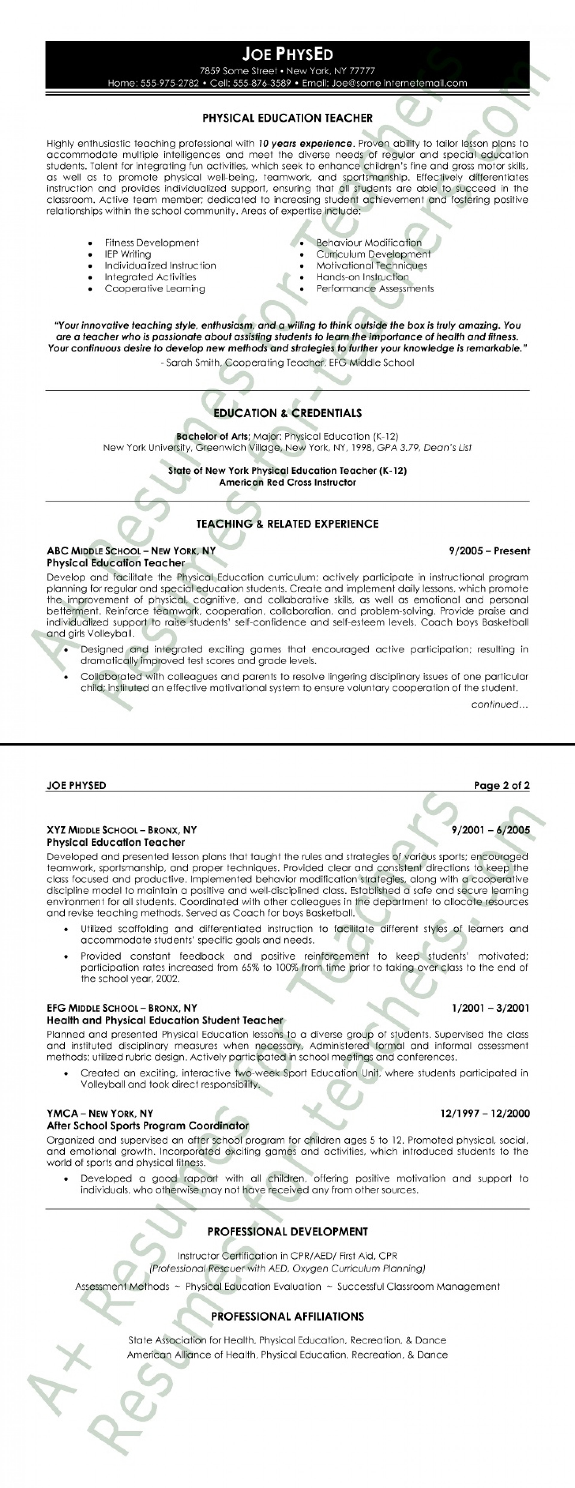 007 Physical Education Resume Sample Studymode Word Essay On Accountability In The Army Formidable 1000 Importance Of 1920