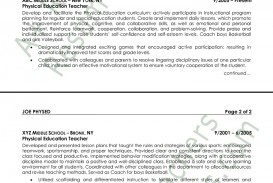 007 Physical Education Resume Sample Studymode Word Essay On Accountability In The Army Formidable 1000 Importance Of