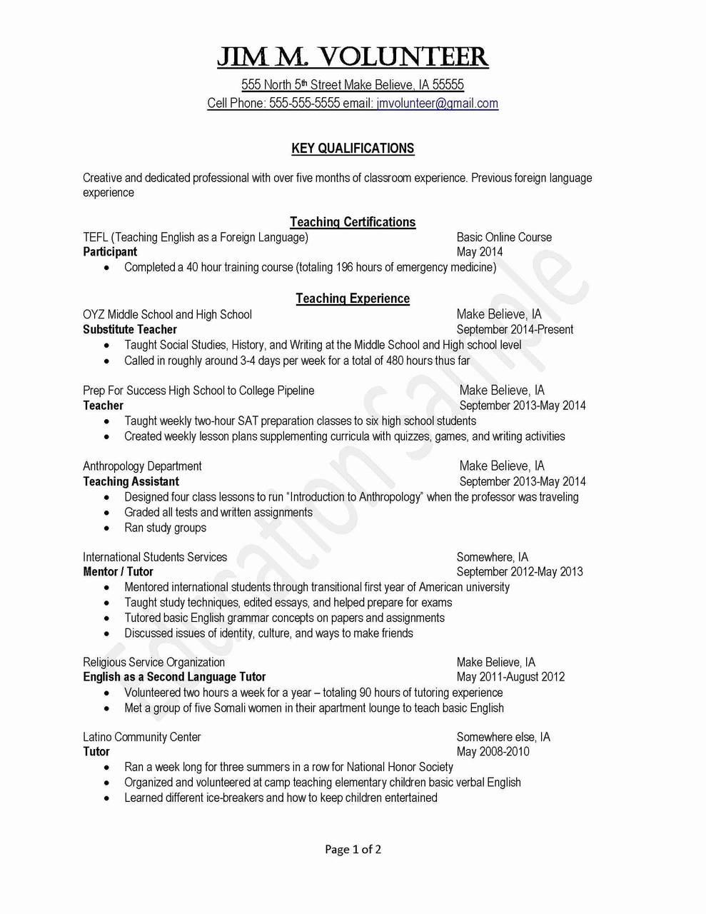 007 Private Tutor Resume Sample On College Essay Long Island