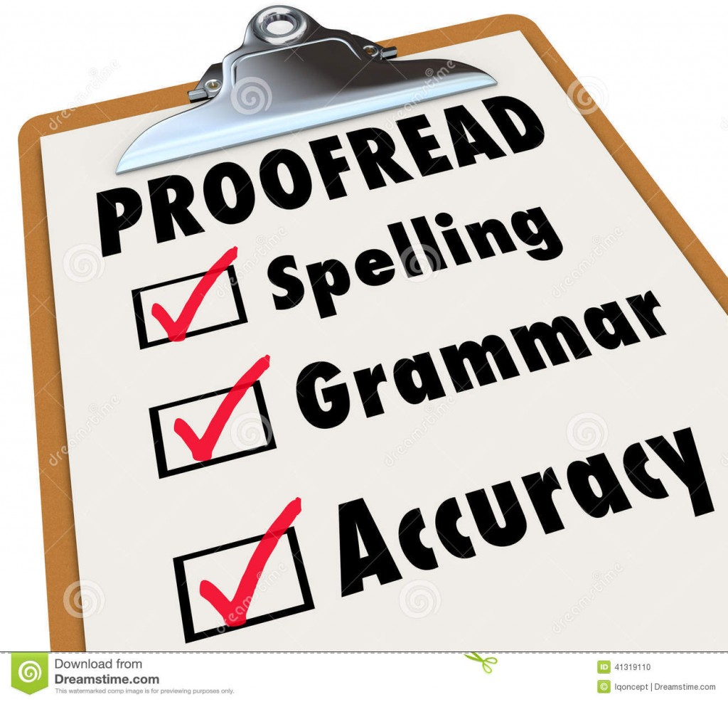 007 Proofread Clipboard Checklist Spelling Grammar Accuracy Checked Boxes Next To Words As Things Editor Reviews Essay Example Proofreader Incredible Free Online Large